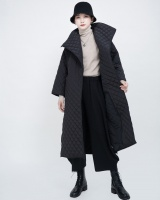 Winter cotton coat quilted coat for women