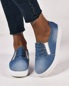 European style denim Casual shoes