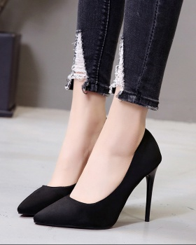 European style high-heeled shoes shoes for women