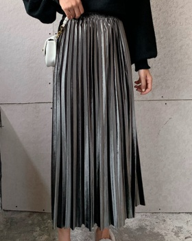 Long autumn and winter long skirt slim thick skirt for women