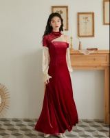 Maiden autumn and winter dress banquet evening dress