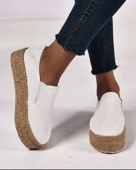 Large yard Casual hemp rope shoes for women