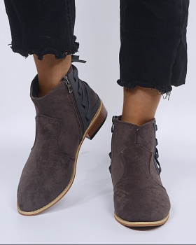 Large yard short boots European style shoes