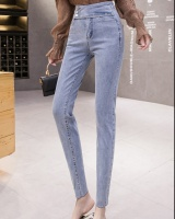 Korean style high waist pencil pants pencil jeans