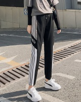 Loose feet summer harem pants letters thin sweatpants