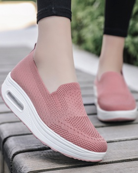 Heighten shake shoes lazy shoes for women