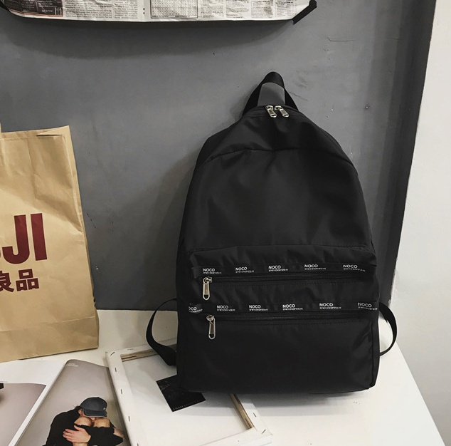 Big student Korean style schoolbag Casual backpack