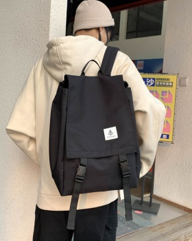 Korean style backpack high capacity work clothing for men