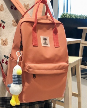Big student backpack canvas backpack for women