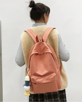 Canvas pure backpack all-match backpack for women
