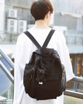 Korean style Japanese style backpack campus simple backpack