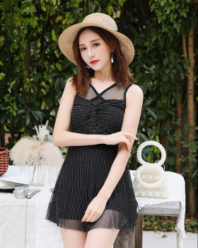 Vacation student skirt conjoined swimwear for women