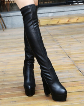 Autumn and winter thigh boots European style boots