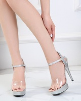Summer fashion sandals fine-root high-heeled shoes for women