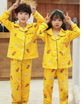 Autumn and winter child pajamas 2pcs set for women