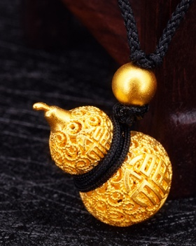Pendant gold gourd lovely accessories