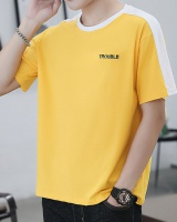 Spring loose fashion T-shirt short sleeve summer tops for men