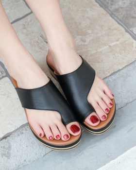 Casual vacation  large yard slipsole sandals for women