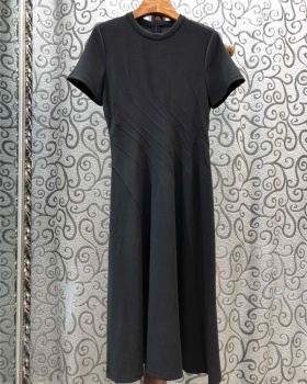 Spring and summer T-shirt long dress for women