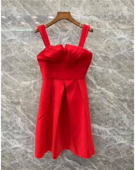Sling sexy T-back spring and summer dress for women