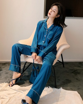 Long sleeve Korean style pajamas a set for women