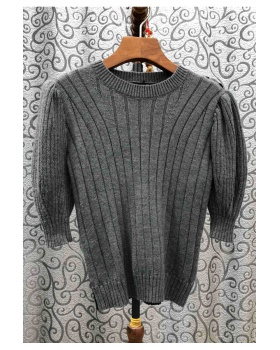 Lazy European style sweater loose spring tops