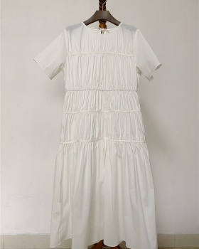 Spring and summer long dress loose dress for women