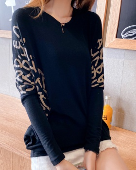 Large yard T-shirt long sleeve bottoming shirt for women