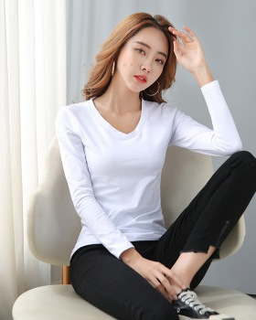 Pure tops long sleeve T-shirt for women