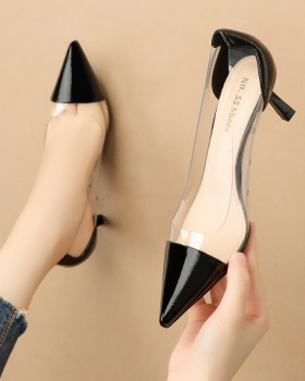 Korean style high-heeled shoes sandals for women