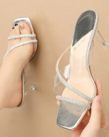 Fashion high-heeled shoes all-match sandals for women