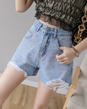 All-match short jeans summer shorts for women