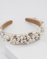 Weave catwalk bride hair accessories pearl all-match hair band