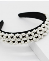 Gem pearl hair band rhinestone hair accessories