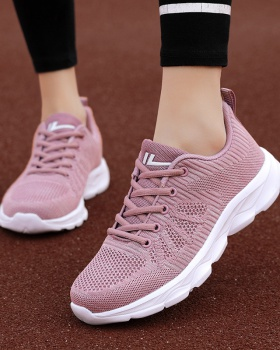 Flat Korean style all-match sports shoes for women