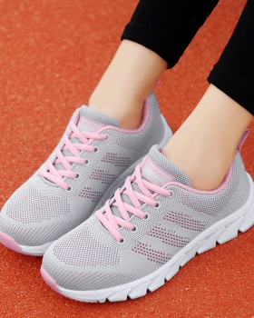 Flat shoes spring Sports shoes for women