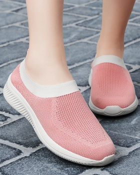 Portable socks breathable cloth shoes for women