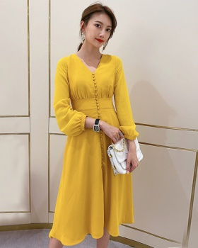 Slim spring and summer lady fashionable dress
