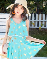 Small lovely swimwear Cover belly girl lady dress