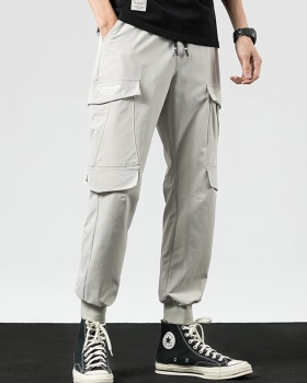 Casual work clothing summer pants for men