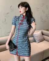 Retro summer cheongsam temperament Chinese style dress