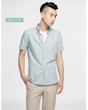 Short sleeve refreshing business Casual shirt for men
