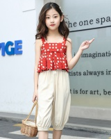 Sling girl little girl halter tops 2pcs set