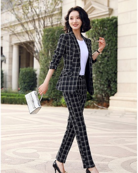 All-match coat temperament business suit 2pcs set