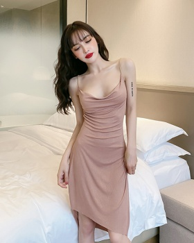 Summer glitter dress slim sexy strap dress for women