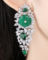 Temperament banquet earrings fashion stud earrings for women