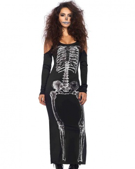 Sexy halloween long skirt European style cosplay for women