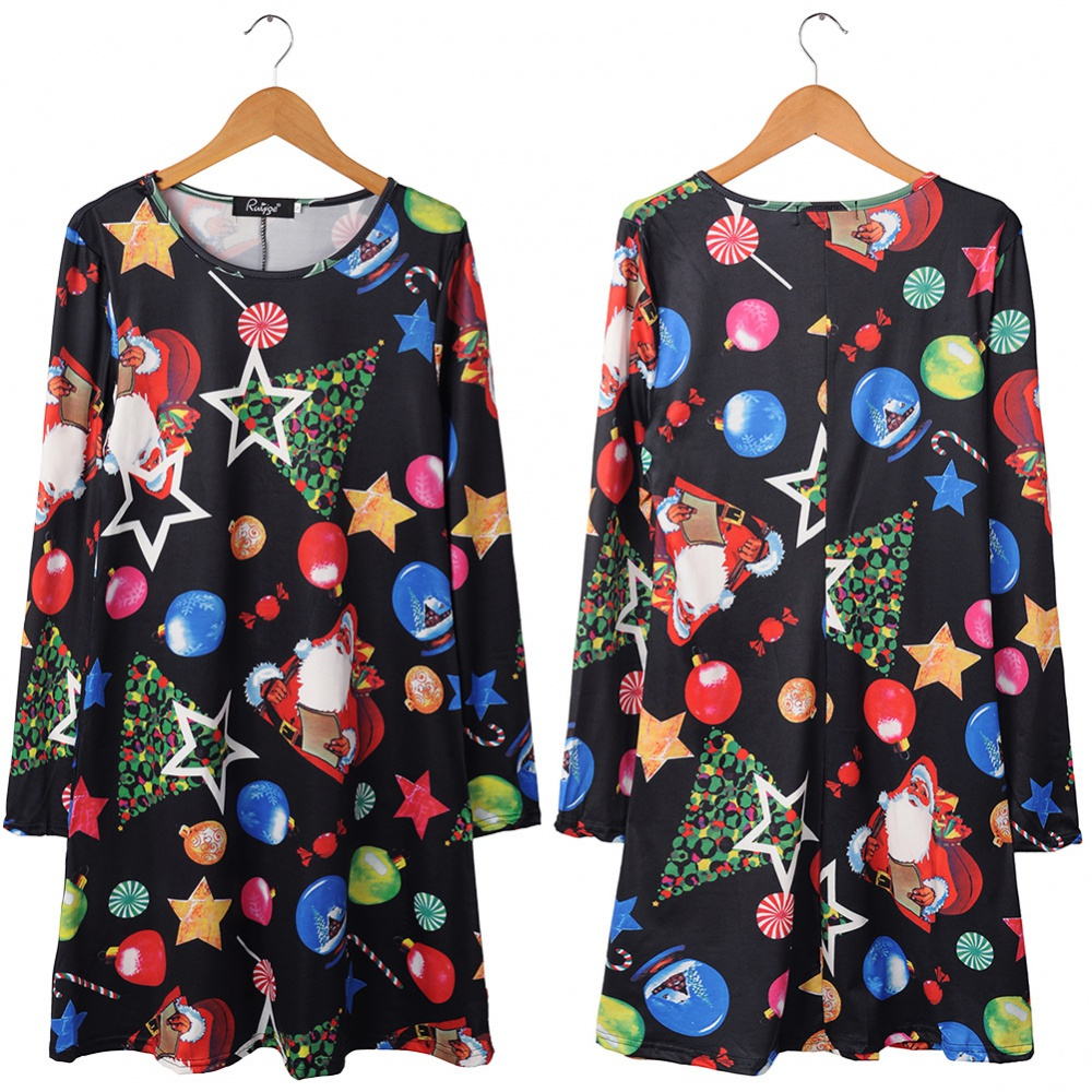 European style cosplay printing skirt for women
