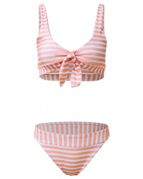 Bow sexy European style swimwear for women