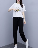 Large yard sports slim summer T-shirt a set for women